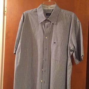 Izod Short Sleeve Casual Shirt